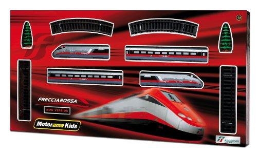Mac Due Motorama 497384 - Treno Freccia Rossa a Batteria, Scala 1:87