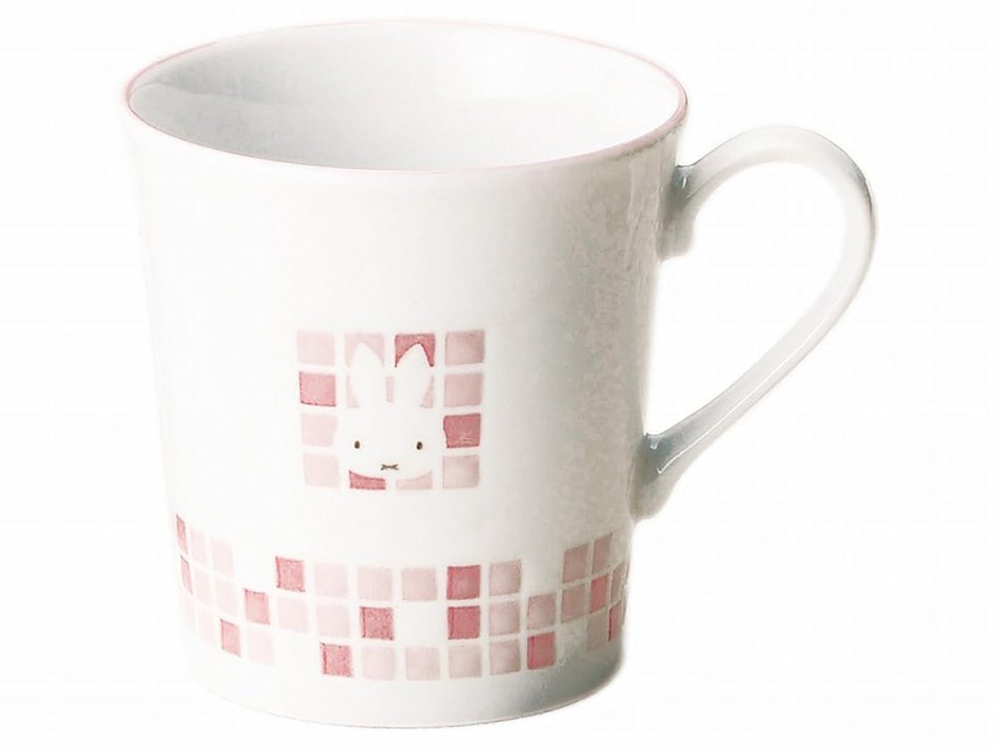 写真を撮る犯す冷えるディック ブルーナ 「 Miffy モザイクアート 」 ミッフィー マグカップ 260ml レッド 278130