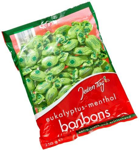 Jeden Tag Eukalyptus-Menthol Bonbons, 250 g