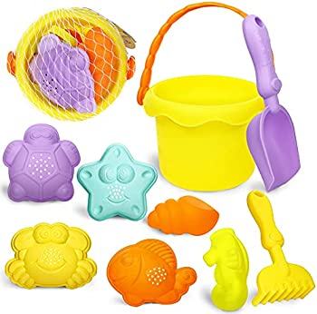9-Piece 3 otters Beach Toys Set