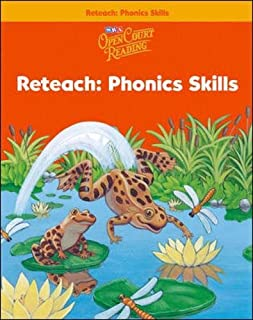 Open Court Reading - Reteach Workbook - Phonics Skills - Grade 1