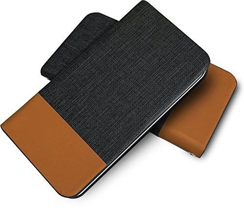 ケース GRANBEAT DP-CMX1(B) 互換 手帳型ケース 牛革 本革 高級レザー PU レザー 磁気カードの磁気不良防止機構 マグネットなし ツートン dpcmx1 ダークグレー ブラウン