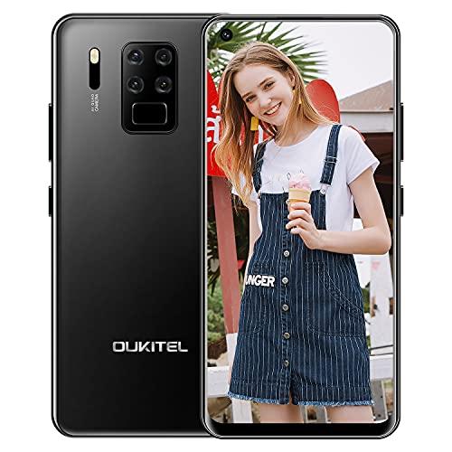 OUKITEL C18 PRO Cellulare Offerta 2021, Cellulari Economici Schermo da 6,55 pollici, Quattro Fotocamere Posteriori 16MP, Octa Core 4GB +64GB, Android 9, 4000mAh Batteria, 4G LTE Dual SIM, GPS OTG