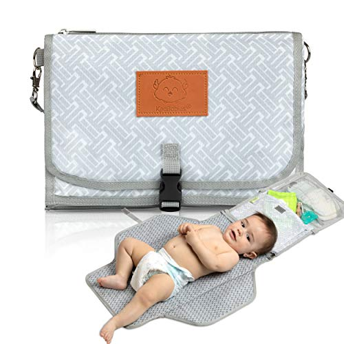 Baby Diaper Changing Pad - Portable Waterproof Diaper Changing Mat - Folding...