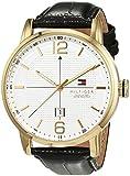 Reloj analógico para hombre Tommy Hilfiger 1791218, mecanismo de cuarzo, diseño clásico, correa de piel.
