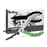 Umibozu(ウミボウズ) フィッシングプライヤー 釣り用ペンチ 超軽量 多機能 針はずし フックはずし ラインカッター 安全ロープ 専用ケース付き (ウミボウズピンク)