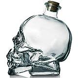 1 pz Crystal Skull Head Shot Glass Party Trasparente Champagne Cocktail Birra Birra Bottiglia di Vino Doghedware Drinkware Tools,200ml