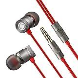 Auriculares In-Ear Metal Auriculares con Cable Sonido HiFi de Alta Resolución Y Baja Distorsión Anti-Ruido Auriculares Headphones Ruiseñor GGMM