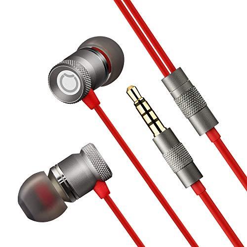 In Ear Kopfhörer, GGMM Metall-In-Ear Headphones mit Mikrofon