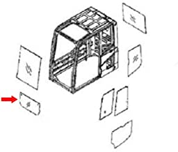 22B-54-16150 Lower Door Glass Made for Komatsu Excavator PC78UU-6 PC78US-6