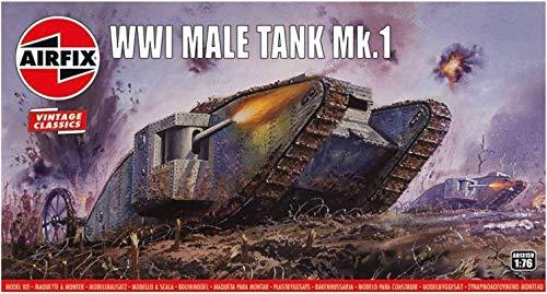 エアフィックス 1/76 ヴィンテージクラシックス 第一次世界大戦 イギリス軍 メール戦車 プラモデル X-1315V