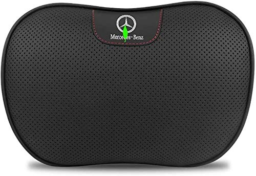 1 Pcs Neck Pillows Car Seat Cushion Headrests Pillow for Benz EQC CLS GLS GLE GLC,etc.with Adjustable Elastic Strap Car Travel Cervical Pillow (Color : No1)