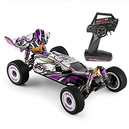 KGUANG 4WD Off-road RC Car60km / h Chasis de aleación, Amortiguador, Deriva 2.4G Control remoto Buggy USB Vehículo de juguete eléctrico para niños Adulto Niño Principiante Coche de carreras profesiona