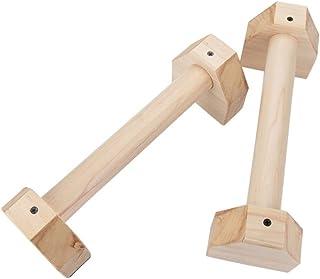 Renoble Flexiones De Madera,Conjunto Paralelo De Doble Varilla De Madera Flexiones De Fitness Handstand Aeróbico De Madera En Forma De H Barras Paralelas Personalizadas Kit De Flexiones Pretty