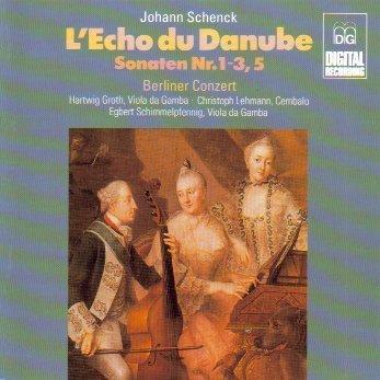 Schenck: L'Echo Du Danube Op. 9 (Sonatas Nos. 1-3 & 5) by Hartwig Groth, Christoph Lehmann, Egbert Schimmelpfennig (1994-11-02)