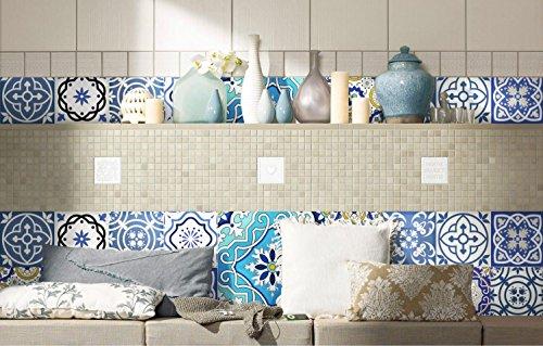 JY ART Y Wand-Aufkleber Küche Deko Badezimmer-Gestaltung - Küchen-Fliesen überkleben - Dekorative Bad-Gestaltung - Fliesen-AufkleberDT001, 10cm*10cm