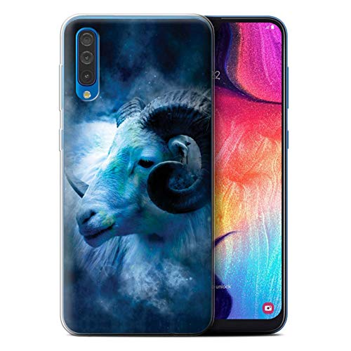 eSwish telefoonhoesje/Cover/Skin/SG-GC/Zodiac Star Sign Collection Samsung Galaxy A50 2019 Aries/Ram