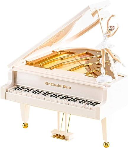 LILY-music box Manuelle Spieluhr Europ che Klassische Flügel Spieluhr Ornamente Rotierenden Tanz Ballett mädchen Spieluhr Geburtstagsgeschenk Guter Sound