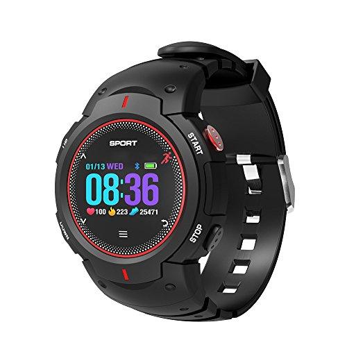F13 1.0inch IP68 Reloj inteligente a prueba de agua Bluetooth 4.0, compatible con recordatorio de llamadas entrantes / detección de frecuencia cardíaca / monitoreo del sueño