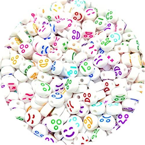 100 Uds 6mm cuadrado mezclado letras del alfabeto abalorios pulsera collar para hacer joyas accesorios de bricolaje