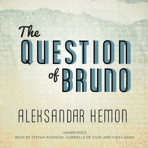 The Question of Bruno audiobook cover art