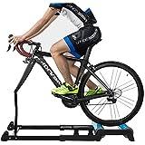 VictorySport Rullo per Bici Rampa - Alluminio Set Trainer per Bicicletta per Allenamento in casa