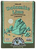 Down to Earth Dolomite Lime is a five pound box of all natural mineral fertilizer and is listed by the Organic Materials Review Institute (OMRI) for use in organic production Supplies essential nutrients calcium and magnesium, and sweetens your soil ...