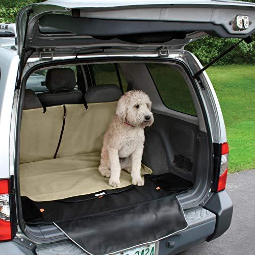 Kurgo Mata do bagażnika dla psów, wodoodporna i odporna na zarysowania, jeden rozmiar – pasuje do większości pojazdów, Hampton Sand, Cargo Cape