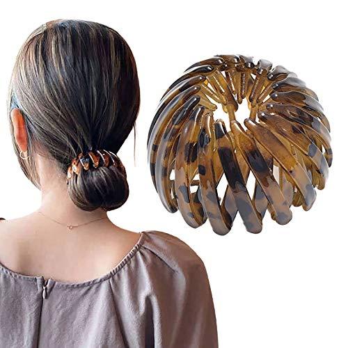 Writtian Haargummis Mode Kristall Pferdeschwanz Halter Mädchen Haarspangen Stifte Frauen Kristall Schwanz Haar Brötchen Halter Clips Klauenstifte haarklammern...