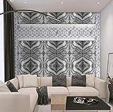 HUATULAI Mural Fondo pantalla 3D Nórdico Pintado A Mano Planta De Aloe Vera Sala De Estar Dormitorio Fondo De Pantalla Mural-400 * 280 Cm
