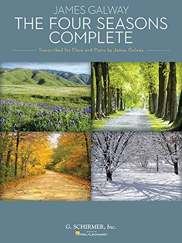 Vivaldi Antonio The Four Seasons Complete (Ed Galway James) Flt/Pf Bk