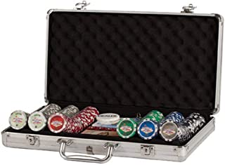 Poker Set In Aluminum Case With 300 (11.5 Gram) Las Vegas Style Chips