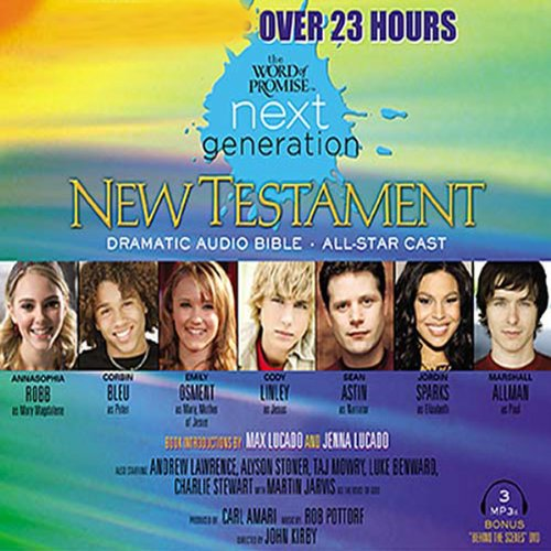 The Word of Promise Next Generation Audio Bible audiobook cover art