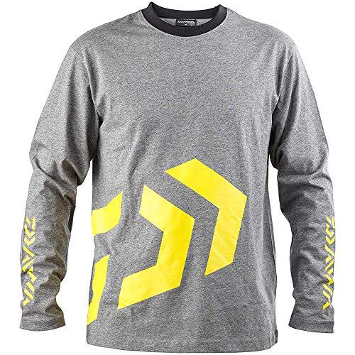 Daiwa D-Vec T-Shirt LS grey/yellow XL