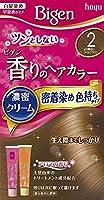 ホーユー ビゲン香りのヘアカラークリーム2 (より明るいライトブラウン) 40g+40g ×3個