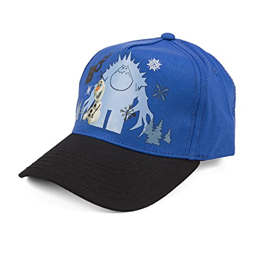 Disney Frozen Olaf Boo Youth Blue Adjustable Baseball Cap