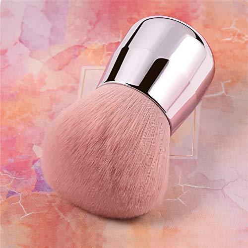 HZD Rosa Gesicht/Körper/Wange Kabuki Make-up Puder Foundation Brush Soft & Fluffy Tragbarer Make-up...