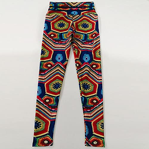 ArcherWlh Leggings Push Up Vita Alta Palestra,Pantaloni Yoga Pantaloni digitali Pantaloni da Yoga ad Alta Vita a Vita Alta-Cachi_S