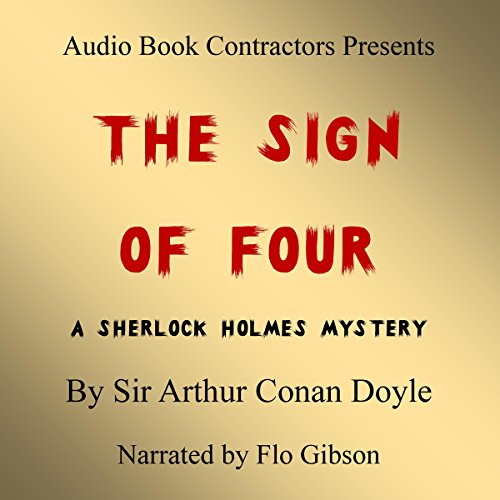 The Sign of Four audiobook cover art