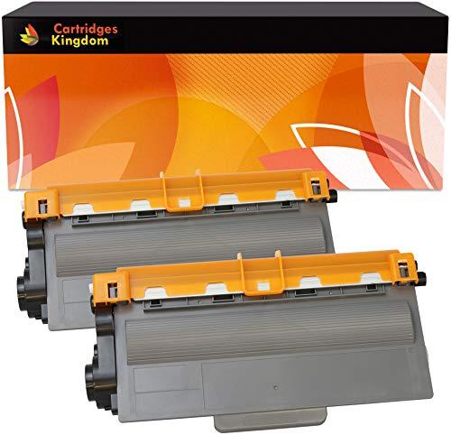 2 Premium Toner kompatibel für Brother TN3330 DCP-8110DN DCP-8250DN HL-5440D HL-5450D HL-5450DN HL-5450DNT HL-5470DW HL-5480DW HL-6180DW HL-6180DWT MFC-8510DN MFC-8520DN MFC-8950DW MFC-8950DWT