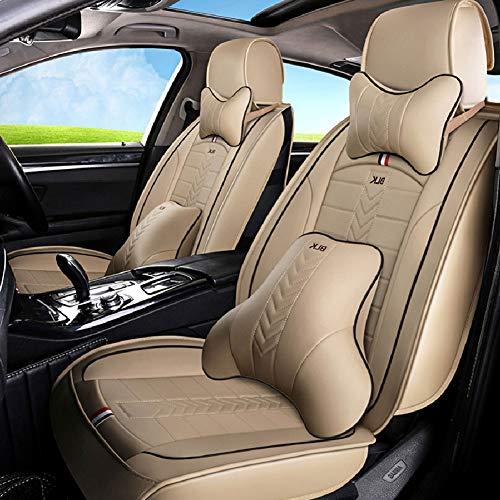 Luxe Lederen Auto Stoelhoezen voor Toyota Camry 40 50 2007 2008 2009 2012 Chr 2018 Corolla Verso 150 Fortuner 2017 auto stoelhoezen,E
