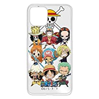 WHITENUTS ONEPIECE ワンピース iPhone11 Pro ケース クリア ハード プリント 麦わらの一味 (op-020) TC-C0024160