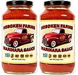 Hoboken Farms Marinara Gourmet Pasta Sauce - No Sugar Added, Non GMO Project Verified, Vegan,...