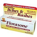 Boericke & Tafel Florasone Itches & Rashes Cream - 1 oz, 2 Pack