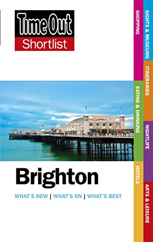 Brighton Shortlist Time Out Guide - 2nd Edition (Time Out Shortlist) [Idioma Inglés]