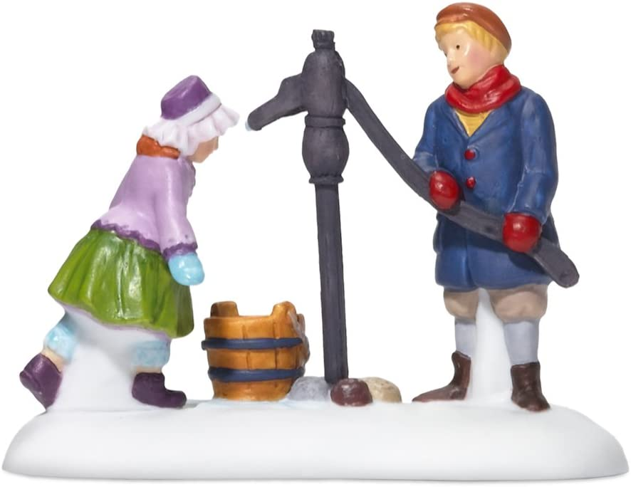 Department 56 Luxury goods Dickens' Village Fetching the Ranking TOP7 Water Accessor Day's