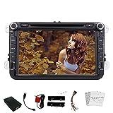 PUPUG gratis Canbus HD: 800 * 480 LCD Windows 8 TouchScreen autoradio speciale per Volkswagen / Nuovo Magotan / Sagitar / Golf / Bora / Touran / Jetta / Candy / Scirocco / Passat / CC / ESO / supporto GPS di navigazione DVD Player Bluetooth / FM / Trasmettitore AM