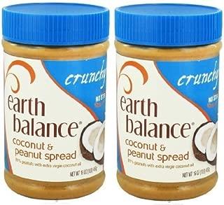 Earth Balance Coconut Peanut Butter Crunchy (2x16oz) by Earth Balance