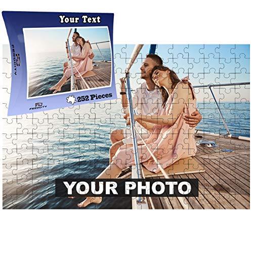 Puzzle Rompecabezas Personalizado con Foto 252 Piezas   Personaliza tu Puzzle con tu Propia Foto con Caja (A3 252 Piezas)