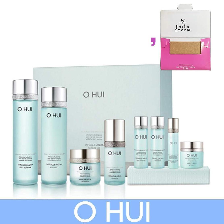 成長する犯人折り目[オフィ/O HUI]韓国化粧品 LG生活健康/O HUI MIRACLE AQUA SPECIAL SET/ミラクル アクア 4種セット + [Sample Gift](海外直送品)